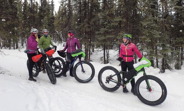 Goldstream Valley Fatbike Ride