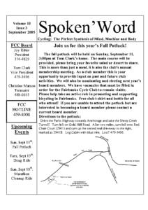 SpokeNWord 2005-09