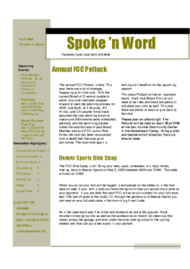 SpokeNWord 2009-04